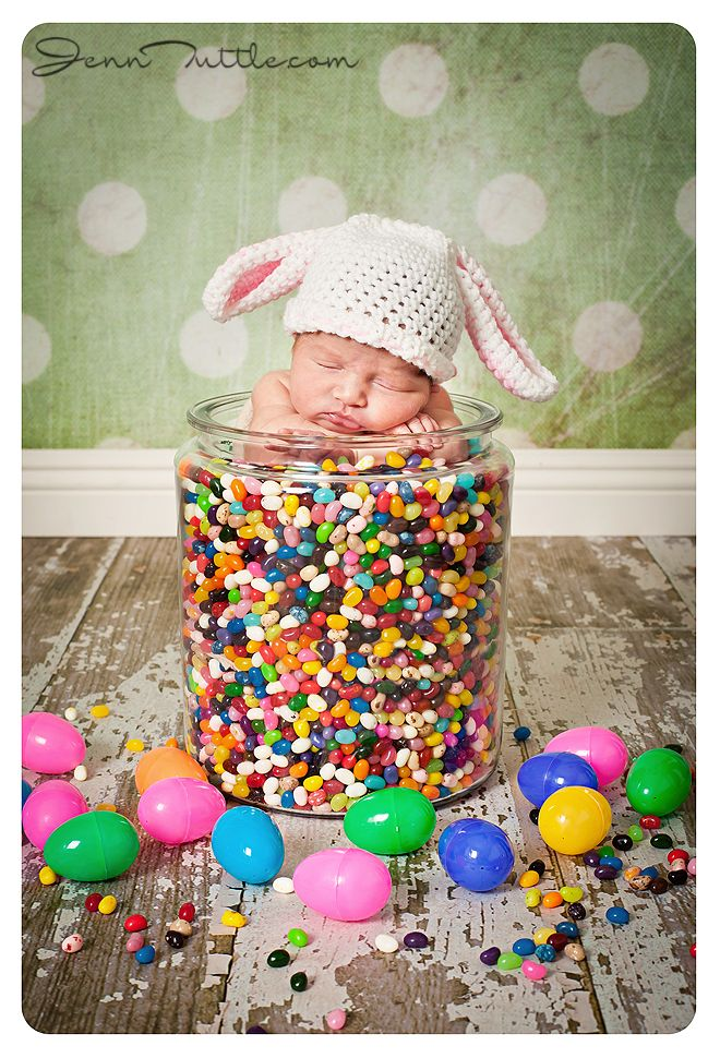 Seriously?!  How adorable is this?!  And how convenient that my beautiful micro preemie boy should be home in time for Easter!!!  I must crochet a bunny hat!