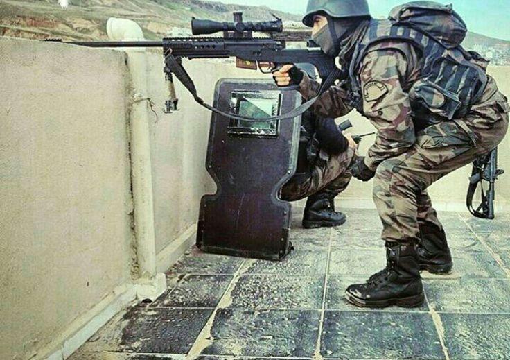 Turkey special Operation Police-PÖH- and (JNG-90) JMK BORA-12 Turkey Expert Sniper Rifle