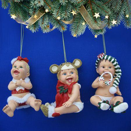 - Ёлочные игрушки малыши 2