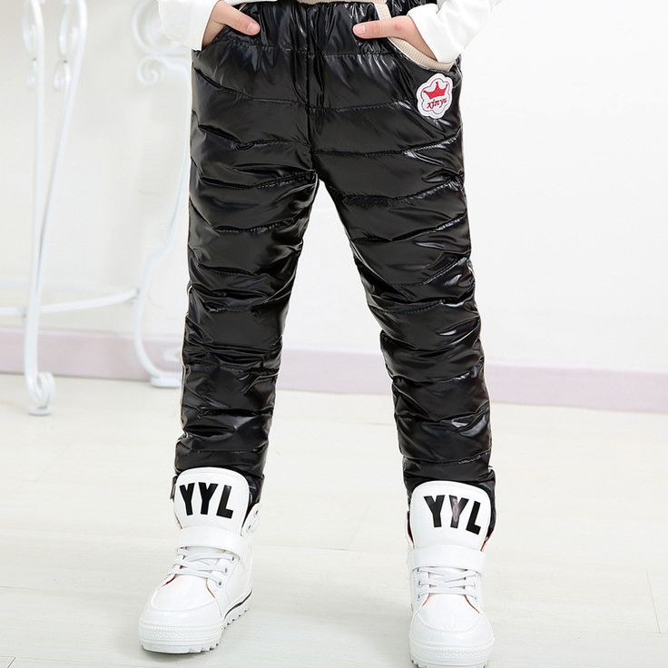 Winter Baby Boy Girl Pants Next Children Clothing Brand Toddler Kids Clothes Warm Fashion Ropa Infantil Down Casual Trousers #Affiliate
