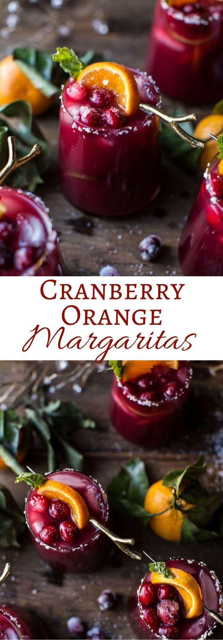 Cranberry Orange Margaritas | halfbakedharvest.com @hbharvest