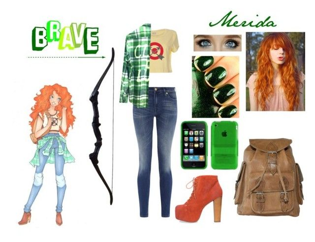 """""""modern merida"""" by scarlet-snow ❤ liked on Polyvore"""
