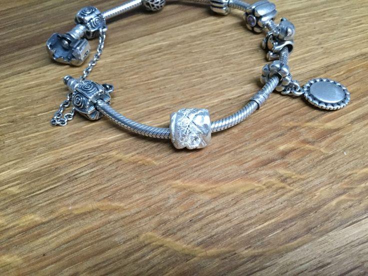 """Korálek """"Pandora"""" z Art Clay Silver"""