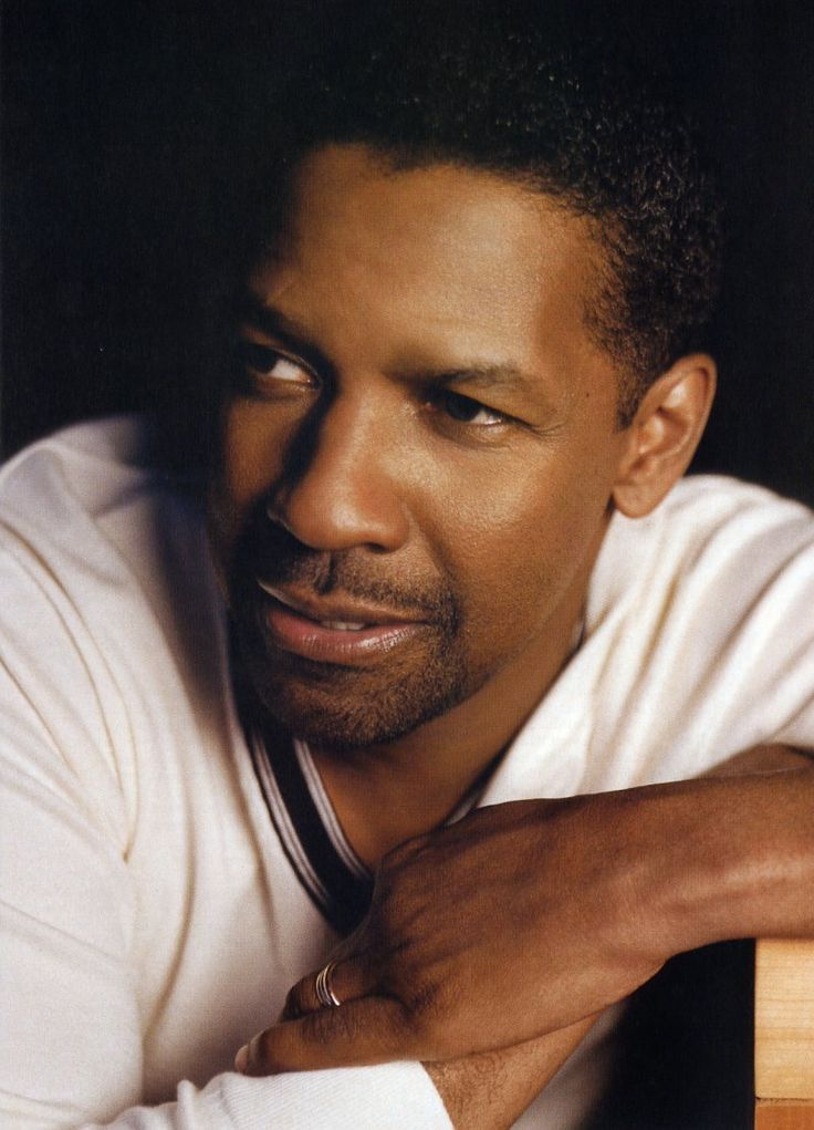 Denzel Washington- he was the guest on Regis and Kelly when I went to the show with my sis for my 40th!