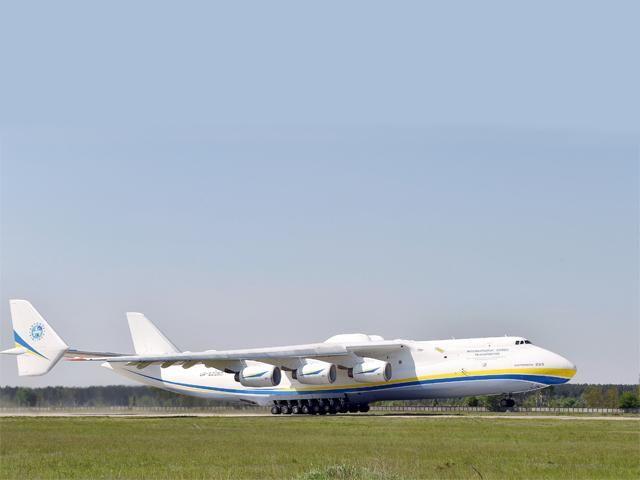 Slideshow : World's largest cargo aircraft lands in Hyderabad - Antonov An-225 Mriya, world's largest cargo aircraft, lands in Hyderabad - The Economic Times