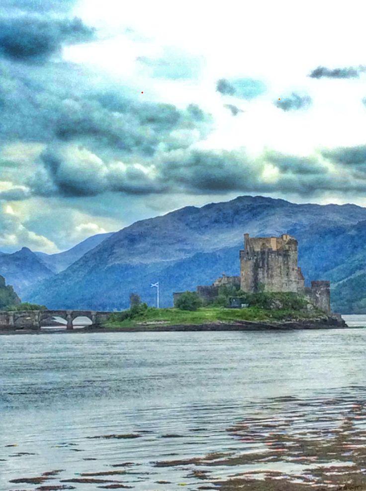 Photo by Inger Fuchs, Eilan Donan castle, Scotland