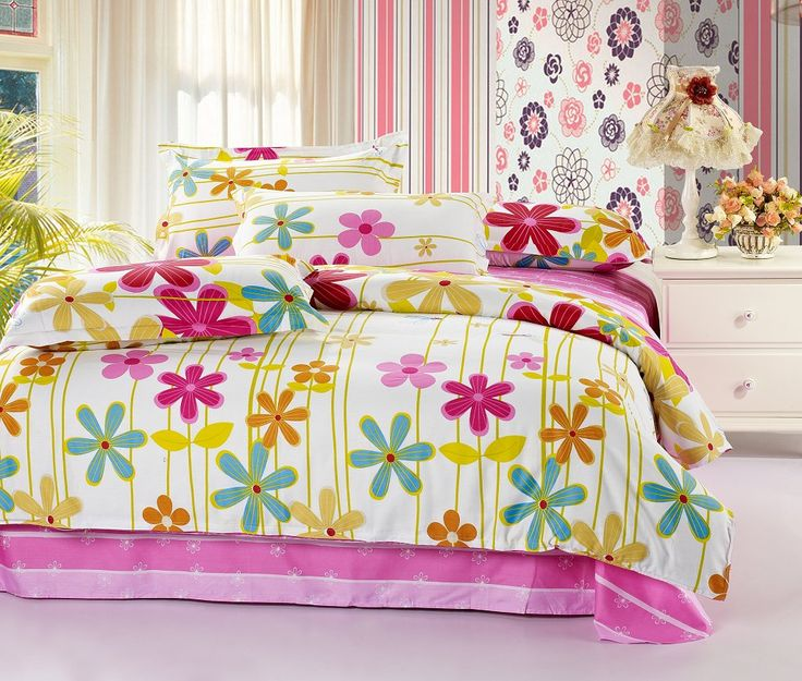 Sunflower kids bedding sets