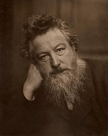 William Morris (24 March, 1834~3 October, 1896) was an English textile designer, poet, novelist, translator and socialist associated with the Pre-Raphaelite Brotherhood (now known as the Pre-Raphaelites) and the British Arts and Craft movement.