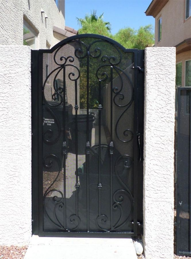 8 Best Ideas For Solid Metal Gate For Courtyard Images On