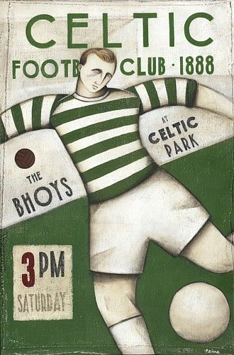 Celtic F.C. is a Scottish football club based in Glasgow. The club was established in 1887, and played its first game in 1888. Celtic have a long-standing rivalry with Rangers; the two Glasgow clubs are collectively known as the Old Firm.  #Celtic FC #Old Firm #Solamente55