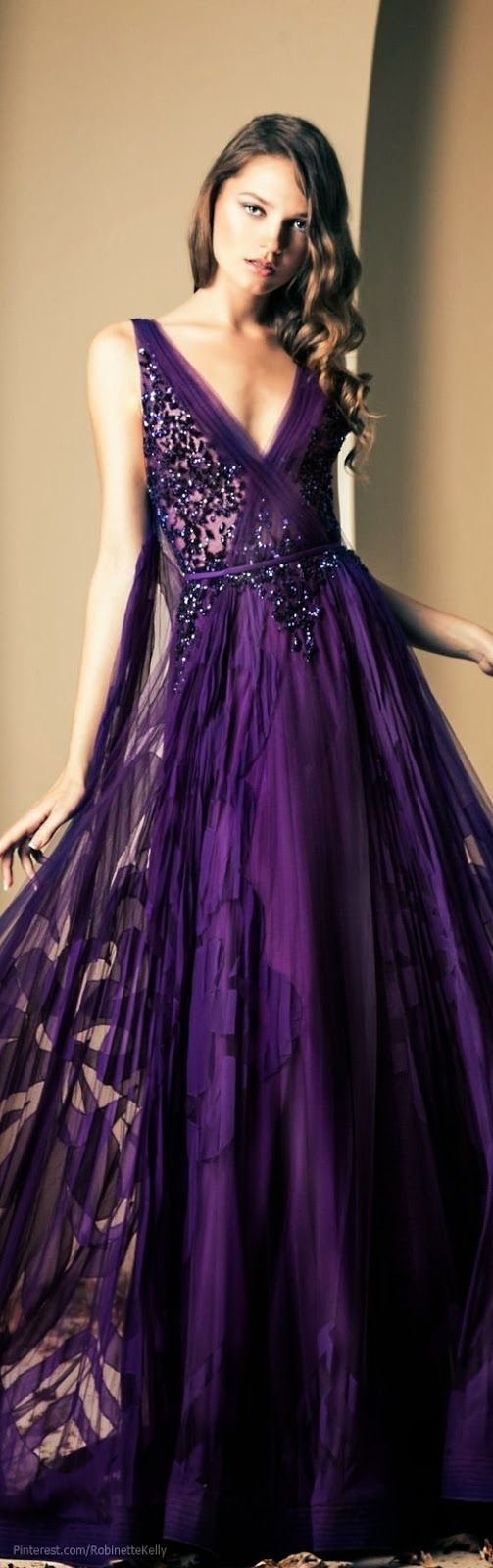 The 219 best Purple! Dresses images on Pinterest | Purple gowns ...