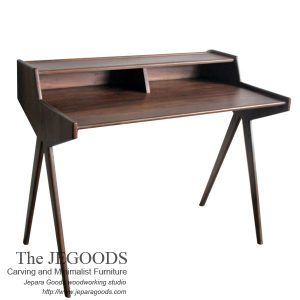 Mid century scandinavia retro writing desk furniture by Jepara Goods Woodworking Studio, Central Java Indonesia.  We design and produce teak Indonesia furniture at factory price. #scandinaviafurniture #retrofurniture #vintagefurniture #teakdanish #midcenturyfurniture #jeparafurniture #retrofurniture #replicafurnituremaker #furnituremanufacturer #indonesiafurnitureexporter