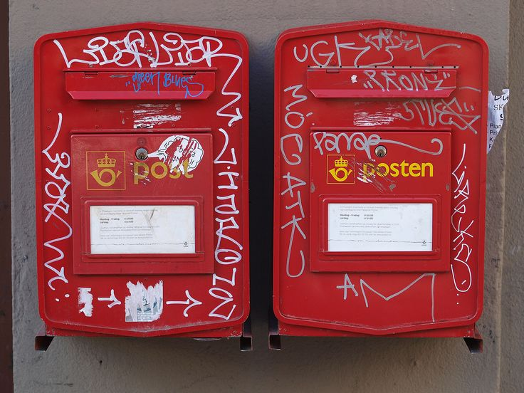 Mailboxes in Oslo