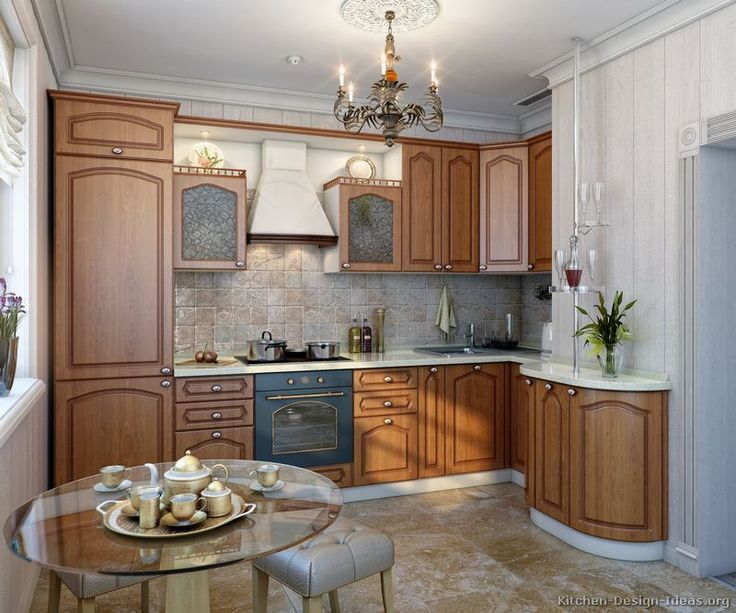 Browse Through Pictures Of Kitchens In This Gallery Featuring Modern Medium Wood Golden Brown Kitchen Cabinets