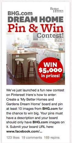 Dream Home! #BetterHomes #home #contest #giveaway