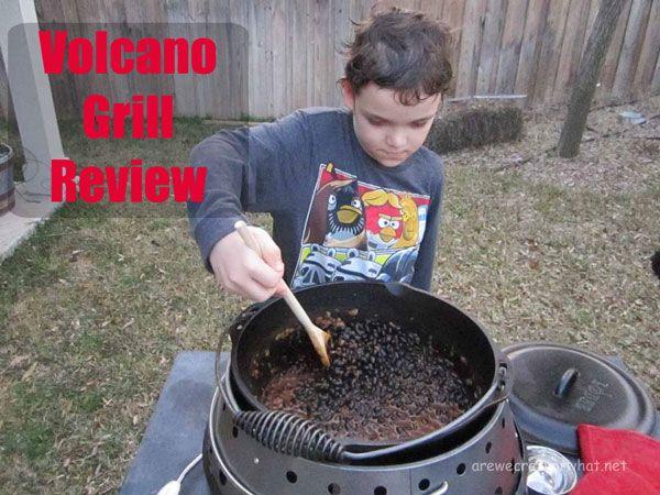 Volcano Grill Review via @sreliantschool