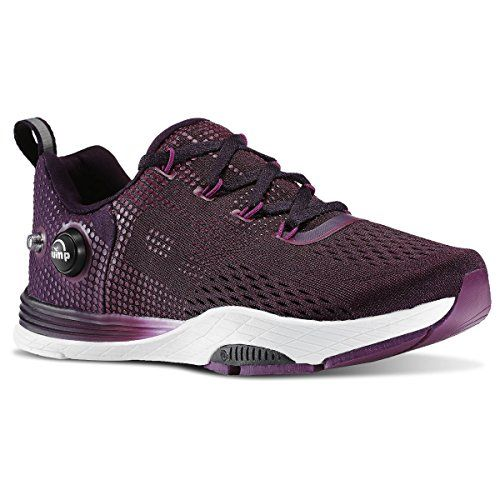 REEBOK LES MILLS CARDIO PUMP FUSION (ROYAL ORCHID/FIERCE FUCHS) WOMEN'S SHOES V66013 (8)