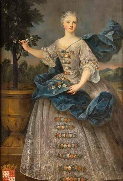 Marguerite Gabrielle de Beauvau-Craon Dame honneur de Marie Lecszinska 1753-59 *1707 - Lunéville (Saint-Jacques) (54, Meurthe et Moselle)+1790 - Bruxelles Parents Marc, prince Beauvau-Craon 1679-1754 Anne Marguerite de Lignéville 1686-1772 Mariée  1721, Lunéville, avec Jacques de Lorraine, prince de Lixin 1698-1734 (sans postérité) Mariée 1739 avec (2.wife)Gaston Pierre Charles de Lévis, duc de Mirepoix 1699-1757 (sans postérité)
