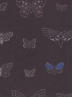 Wallpaper, Rut Bryk: Apollo-perhonen,1950s.