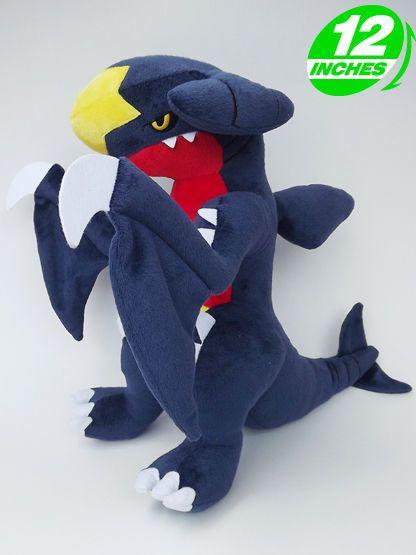 pokemon garchomp carchacrok knakrack plush doll