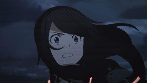 Gun Gale Online - Kirito vs Death Gun, amazing fight scene! >:D