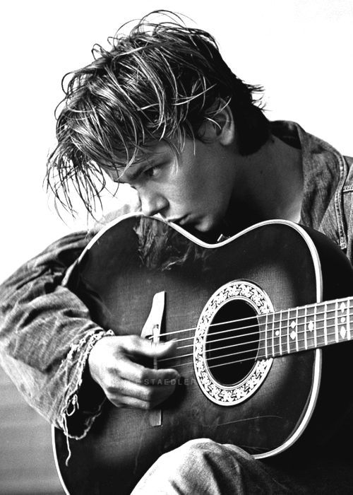 River Phoenix -I'll never forget waking up that morning to hear the news he was gone... amazingly talented, taken way too soon.