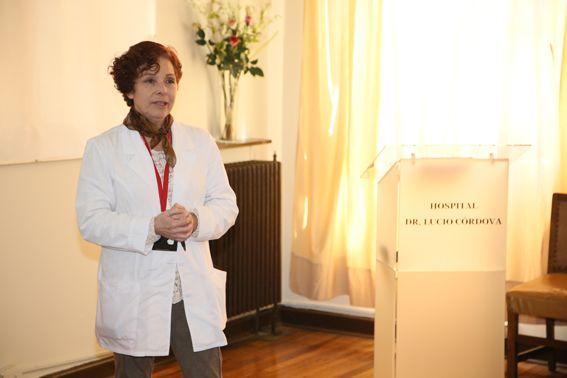 Dra. Laura Bahamondes, Subdirectora Médica del establecimiento.