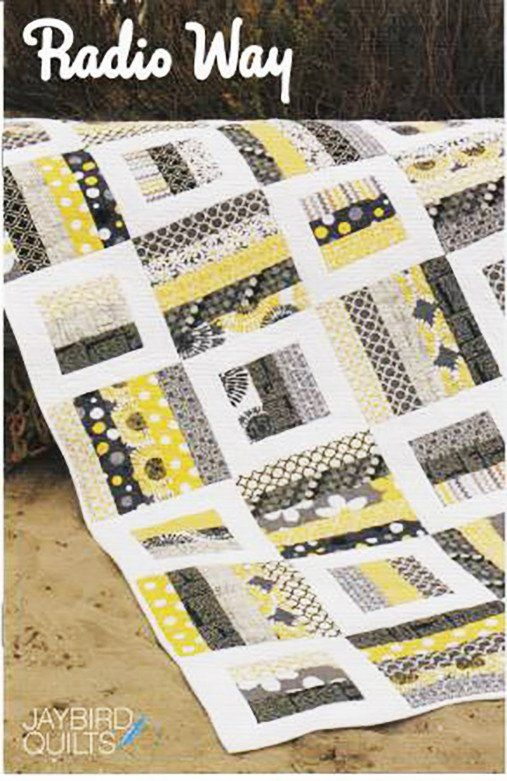 Quilt Pattern - Jaybird Quilts - Radio Way