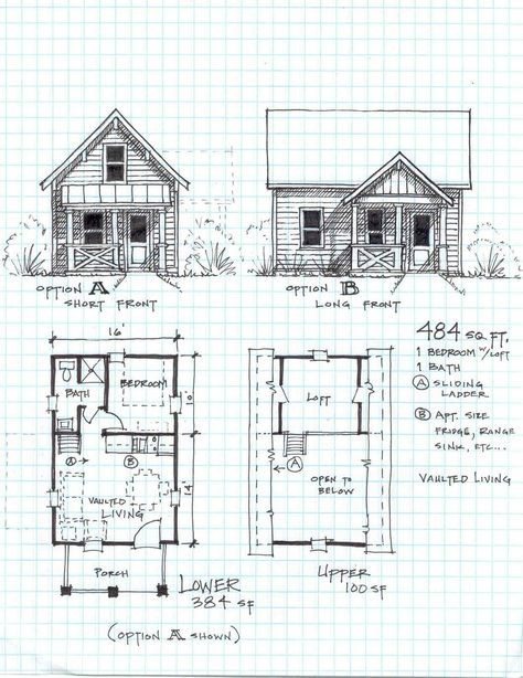 58 best tiny houses plans diagrams images on pinterest small free small cabin plans that will knock your socks off ccuart Gallery