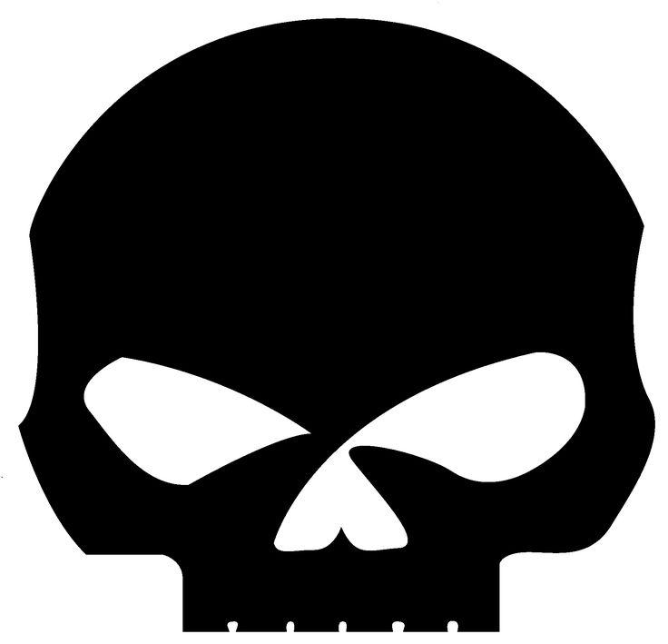 Willie G Skull no text. | tattooooooos ️ | Skull stencil ...