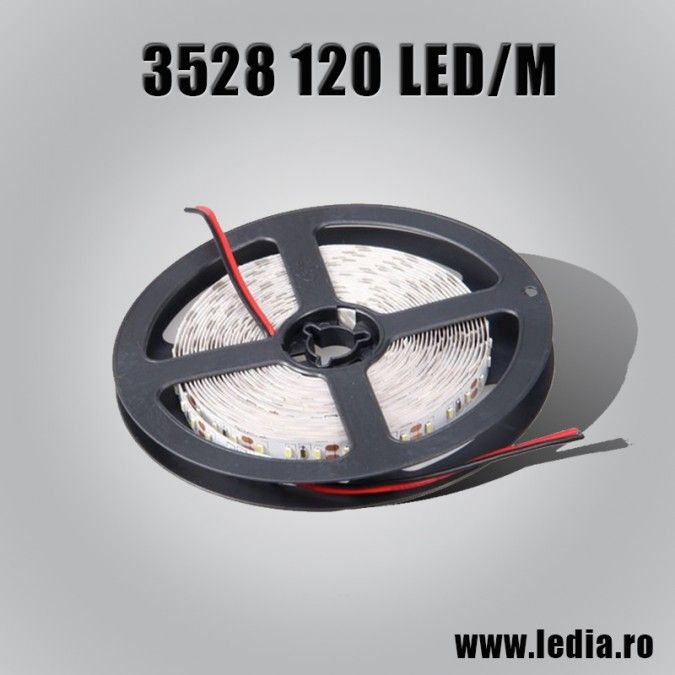 BANDA LED 3528 ALB RECE 120 LED/M