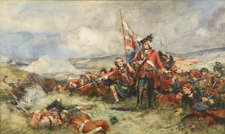 The Royal Highland Regiment at Fontenoy