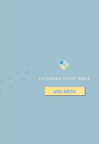 AVailable for iPad, iPhone, Windows: Lutheran Study Bible Notes with NRSV, bible, bible study, gospel, bible verses