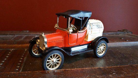 Vintage Ertl J C Penney Replica 1918 Ford Model T Runabout Die