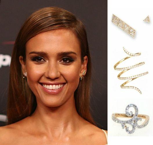 patricia papenberg jewelry Jessica Albe wears Casato Jewels