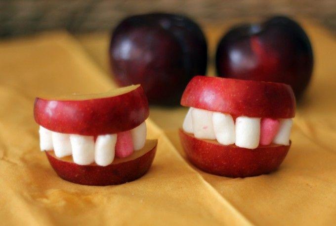 Frutas terroríficas, ideas para Halloween en 5 minutos - Cocinillas.es