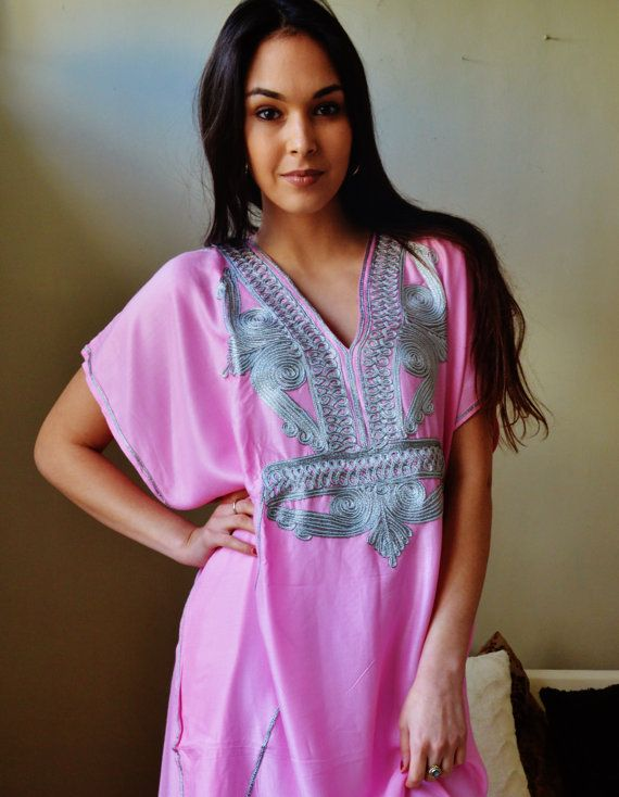 Autumn Winter Trendy Pink and Silver Marrakech by MaisonMarrakech