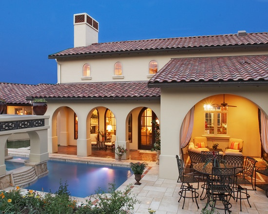 Exterior Design, Pictures, Remodel, Decor And Ideas   Page 25. Spanish  Style HousesSpanish ...