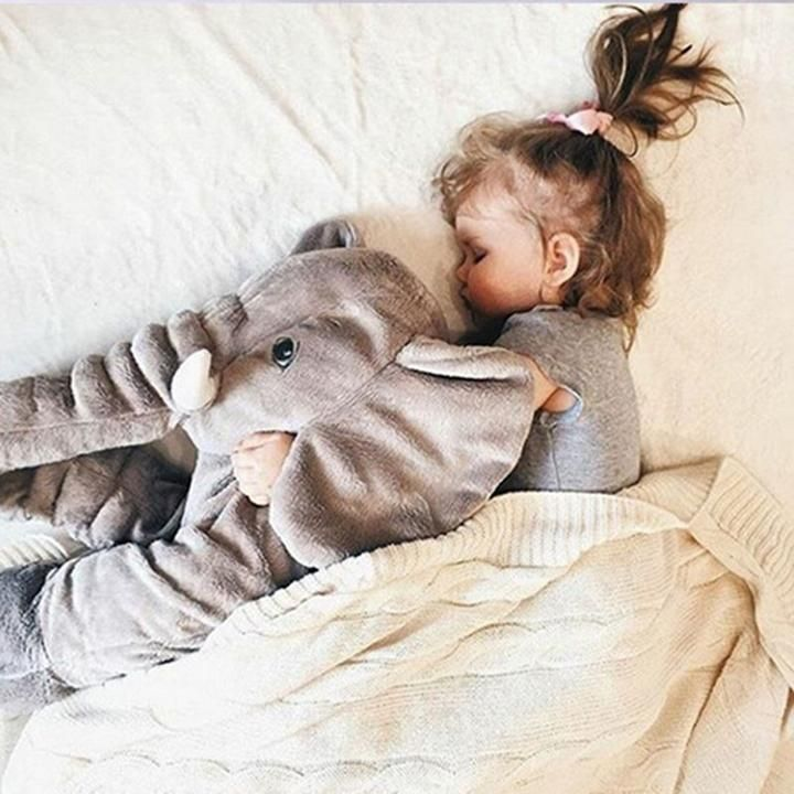 Elephant Baby Pillow Stuffed Animal