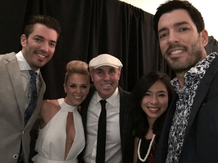 Good times hanging with our friends Kortney Wilson and Dave Wilson at the upfronts the other night #PowerOfCorus