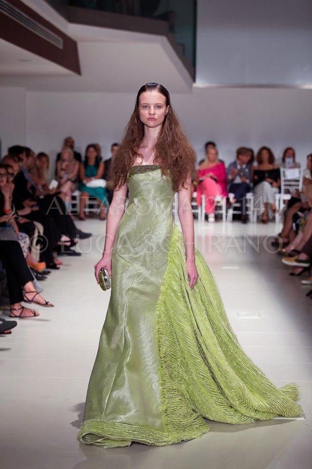 AltaRoma AltaModa Luglio 2014: sfilata Peter Langner Couture 2014/15 - Made in Italy