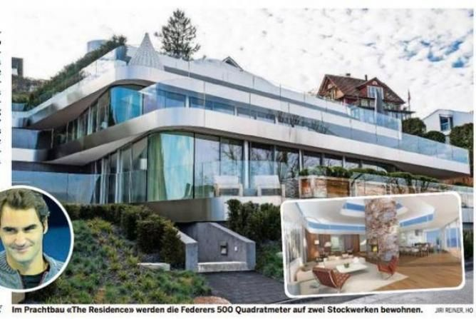 Roger Federer's luxurious houses | Basel Shows #baselshows #rogerfederer