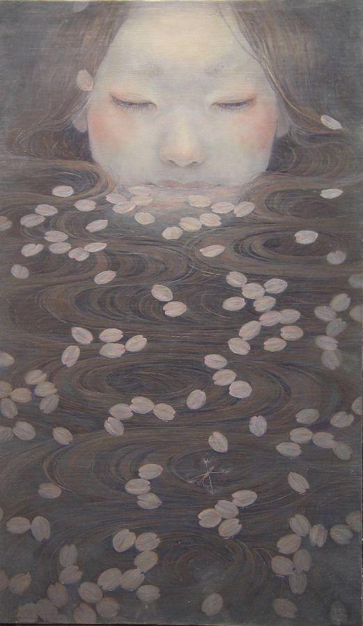 La délicatesse des peintures de Miho Hirano