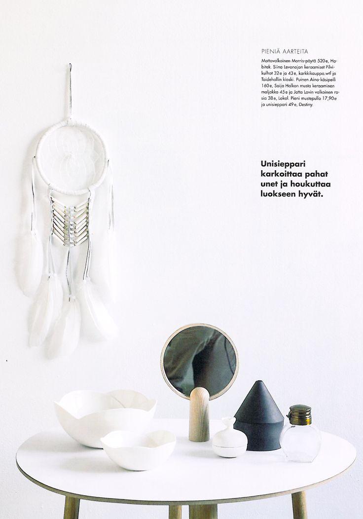 Habitek Morris table in Deko magazine