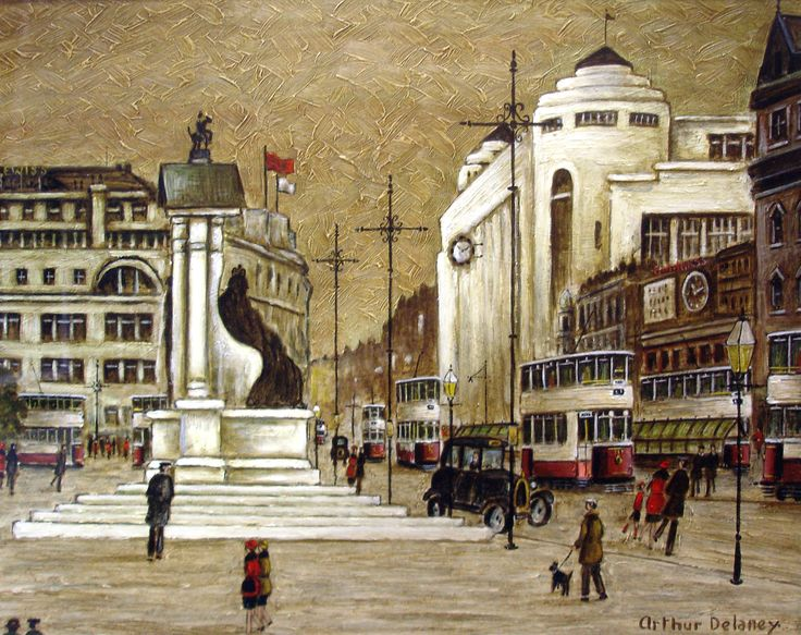 Arthur Delaney: Piccadilly, Manchester