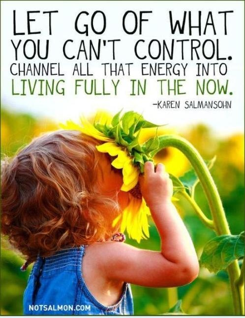 Let go of what you can't control Multiple Sclerosis