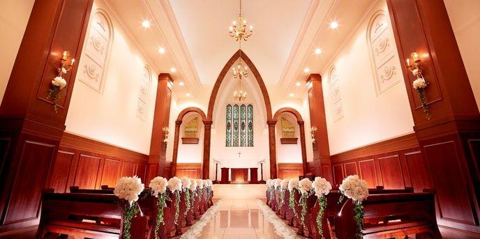 ララシャンス ベルアミー チャペル(メアリークロス教会(挙式会場内))画像1-1