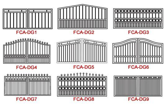 Driveway Gates Options