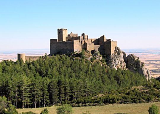 El castillo de Loarre, fortaleza del románico