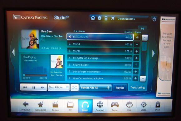 Studio CX in-flight entertainment